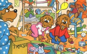 Berenstain Bears, Stan and Jan Berenstain, The Messy Room, book