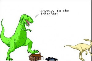 Dinosaur Comics, Ryan North, T-Rex