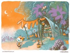 Ellie on Planet X, Jim Anderson, webcomic