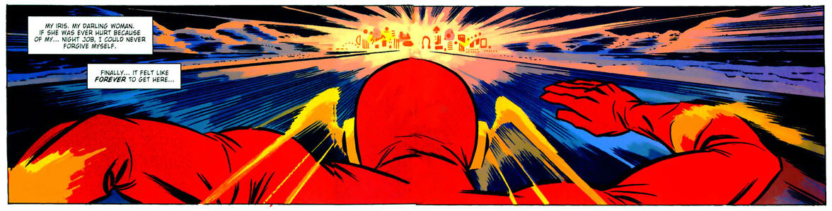 Flash Banner, Darwyn Cooke, The New Frontier