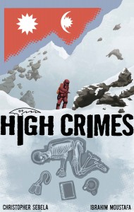 Cover of High Crimes #1 by Ibrahim Moustafa
