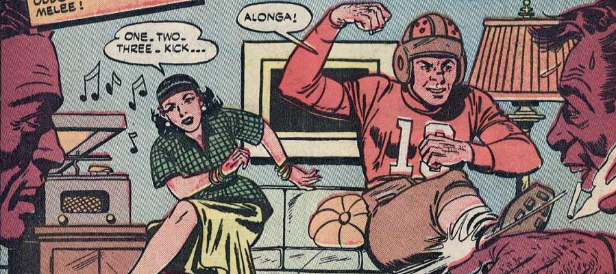 screenshot, kicking, Midge Martin, Popular Teen-agers, Star Publications