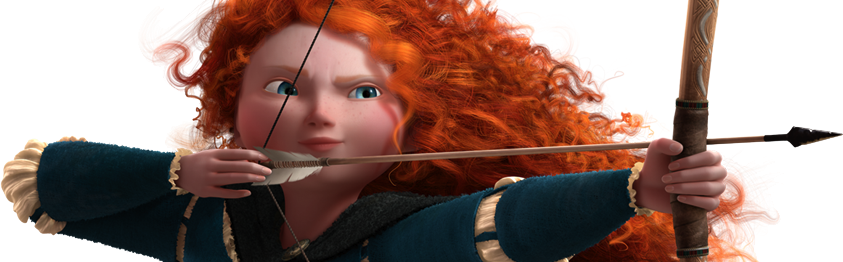 Merida of Disney's Brave, 2012