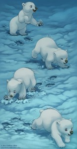 Lindsay Cibos, The Last of the Polar Bears, webcomic