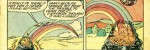 Feature image, Rainbow, Rainbow comics, public domain