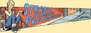 Logo from the Strong Female Protagonist website
