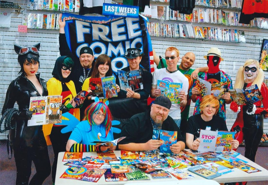 FCBD Retailer Photo, Diamond.