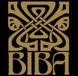 Biba logo, Barbara Hulanicki, designed by  Antony Little