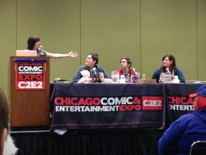 Ladies Night Panel, C2E2 2014
