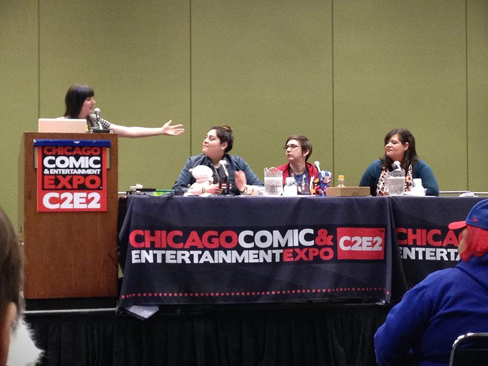 Ladies Night Panel, C2E2 2014
