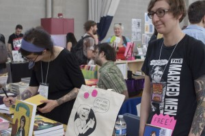 CAKE 2014, Chicago Alternative Comics Expo, Liz Prince