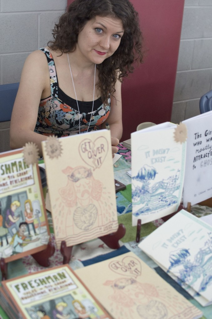 CAKE 2014, Chicago Alternative Comics Expo, Corinne Mucha