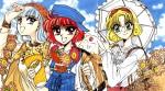 CLAMP, Magic Knight Rayearth Series, OVA, Clamp North Side Artbook, 2005