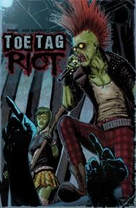 Toe Tag Riot Cover, Von Gorman