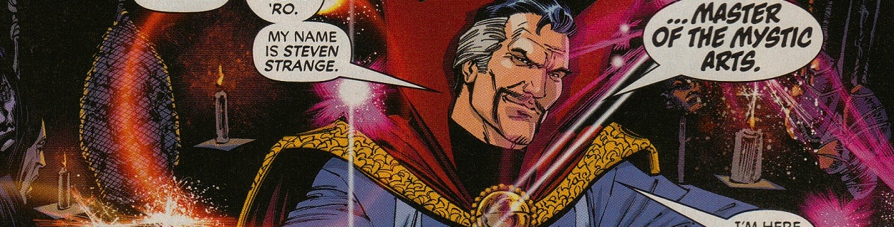 Stephen Strange Doctor Strange Acts of Vengeance