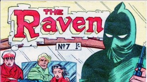 Australian & New Zealand Comics, the raven, public domain