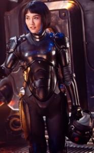 Rinko Kikuchi as Mako Mori, Pacific Rim, Travis Beacham, Guillermo del Toro, Legendary Pictures, Warner Bros, 2012
