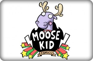 Moose Kid Comics, http://www.moosekidcomics.com/, Jamie Smart, logo