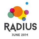 Radius Festival 2014 Twitter logo
