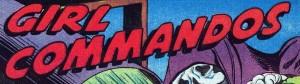 stock: Girl Commandos, Speed Comics, digital comics museum