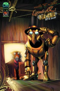 Legends of Oz: Tik Tok and the Kalidah #1  Rob Anderson (W) and Rei Renato (A)  Big Dog Ink