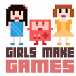 Girls Make Games website logo