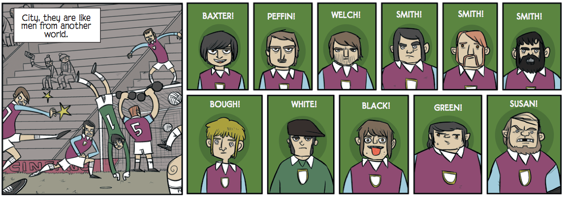 Football Comics! Bad Machinery V.1
