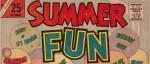 Feature image, public domain, www.comicbookplus.com, Summer Fun, Charlton Comics
