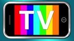 Television On Smartphone Stock Image. Stuart Miles, published on 26 September 2012. TV.