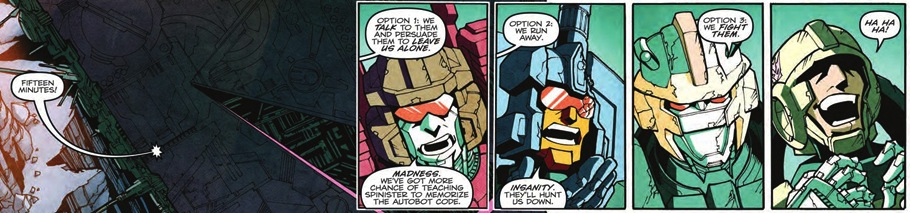 Transformers More than Meets the Eye Issue 8