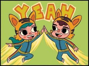 Moose Kid Comics, http://www.moosekidcomics.com/, Jamie Smart,