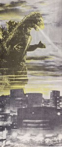 public domain, godzilla1, Fantastic Monsters of the Films, 1962