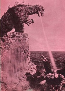 public domain, godzilla2, Fantastic Monsters of the Films, 1962