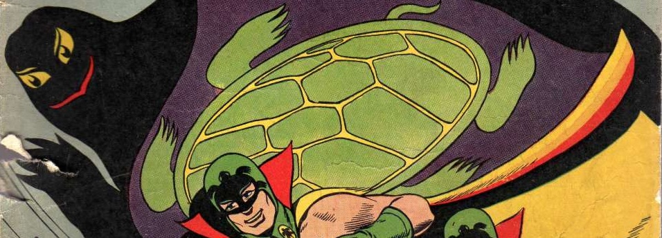 feature image, public domain, www.comicbookplus.com, Green Turtle