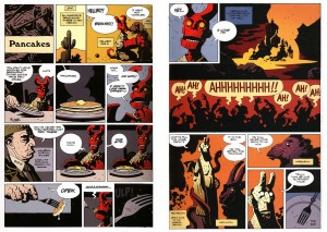 Hellboy's Pamcakes, Mike Mignola, Dark Horse Comics