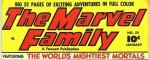 Feature image, marvel family, public domain, fawcett publication
