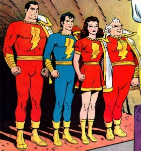 marvel family, public domain, fawcett comics