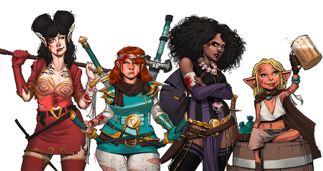 Rat Queens Coming Soon to a Television Near You