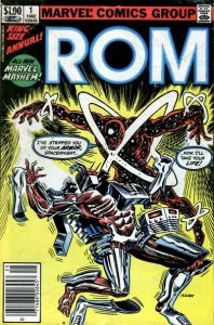 ROM, Space knight, Marvel,  Bill Mantlo, Sal Buscema