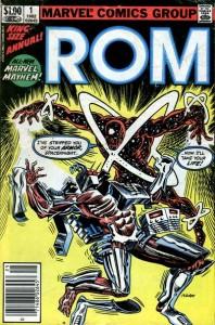 ROM, Space knight, Marvel,  Bill Mantlo, Sal Buscema