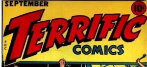 feature image, Terrific, terrific comics, public domain, September 1944