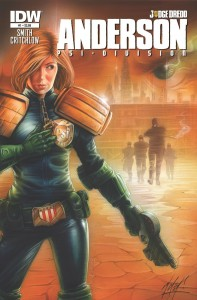 Cover: Judge Anderson, Smith and Critchlow. IDW, 2014.