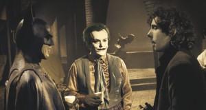 Batman: Nicholson, Keaton and Burton on set