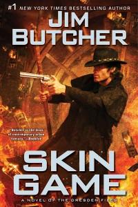 Cover: Skin Game.  Jim Butcher.