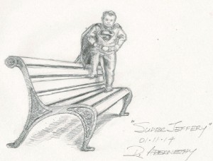 Artist's rendition of the proposed monument, courtesy of the Indiegogo campaign.