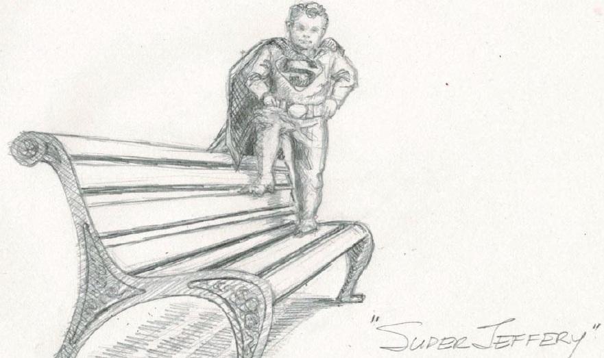 Update: DC to Allow Superman Shield on Statue of Jeffrey Baldwin