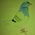 Wendy's Kid's Pigeon