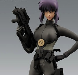 Motoko Kusanagi action figure, Ghost in the Shell, Masamune Shirow, Kodansha