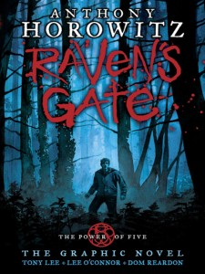 Raven's Gate, The Power of Five, graphic novel, Anthony Horowitz, Tony Lee, Lee O'Connor, Dom Reardon, Walker Books