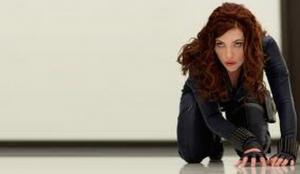 Scarlett Johansson. Black Widow. Iron Man 2. Marvel Studios. Marvel.